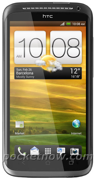 Pressebild vom HTC One X aufgetaucht