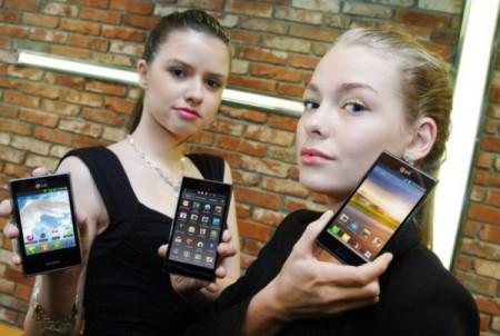LG bringt drei Smartphones zur MWC mit
