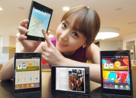 LG präsentiert ihr neues Smartphone: Das Optimus Vu