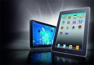 Tablets mit enormen Wachstum