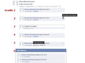 Facebook-Kommentare im Nachhinein ändern
