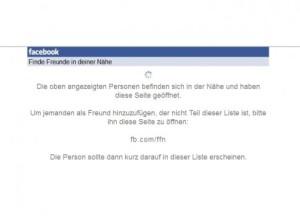 Facebook – Suche nach nahen Freunden wird auf Eis gelegt