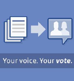 Facebook gibt sich demokratisch
